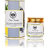 Seer Secrets Lemon Cypress Japanese Mint Active Silver Ion Deodorant Cream Whitening & Bleaching (100Gms)