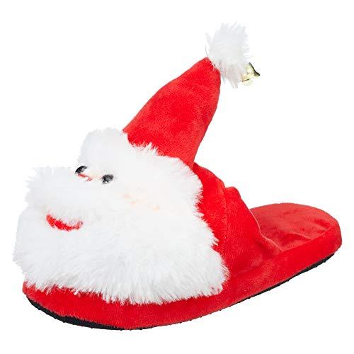 (Preis am Stiel Hausschuhe ''Weihnachtsmann'' 40/41 | Weihnachten | Nikolaus)