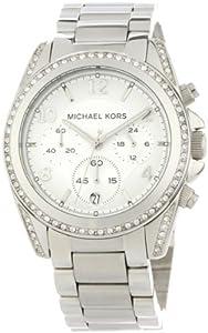 Reloj MICHAEL KORS MK5165 de cuarzo para mujer con correa de acero inoxidable, color plateado de Michael Kors