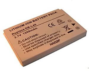Mail Order Batteries Ltd, Brand New Replacement Sanyo DB-L40 Battery, Spec: 3.7v 1200mAh2 Year Warranty, Free UK Delivery.