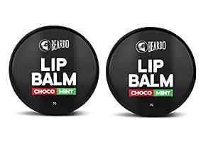 Beardo Choco Mint Lip Balm For Men, 7g (Set Of 2)