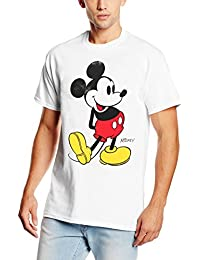 Disney Mickey Mouse Classic Kick, T-Shirt Homme