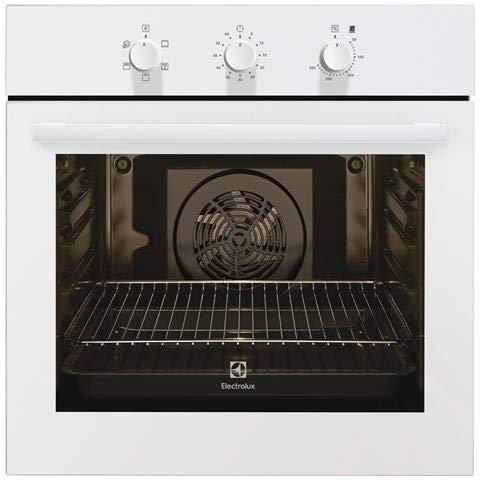Electrolux - forno elettrico da incasso rob 2101 aow capacità 70 l multifunzione ventilato colore bianco