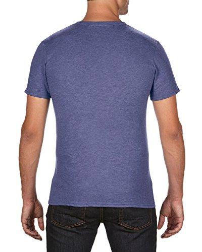 Anvil Herren T-Shirt Heather Blue