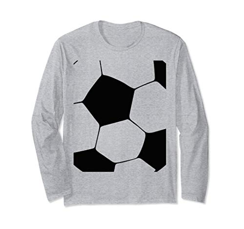 Einfache Für Kostüm Paare - Einfache Halloween Kostüm Idee Fußball Fußball Paare Langarmshirt