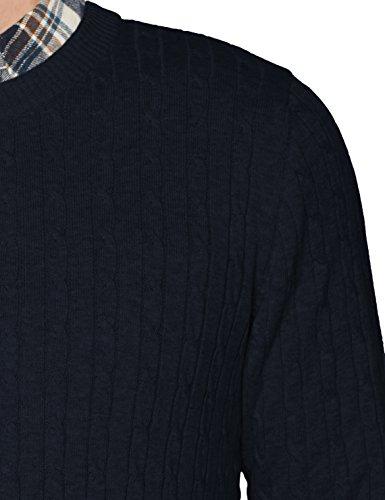 SELECTED HOMME Herren Pullover Shhclayton Crew Neck Noos Blau (Dark Sapphire)