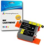 2 Tintenpatronen Kompatibel zu Canon BCI-15/16 für Pixma IP90 i70 i80 Selphy DS700 DS810 MINI220 - Schwarz/Color, Hohe Kapazität