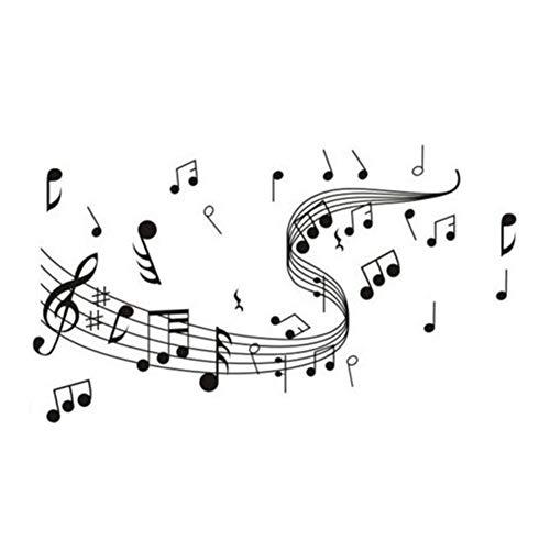 Westeng Notas Música Vinilo Decorativo Pared Vinilo
