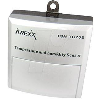 Arexx TSN-TH70E Datenlogger-Sensor Messgröße Temperatur, Luftfeuchtigkeit -40 bis 120°C 0 bis 100