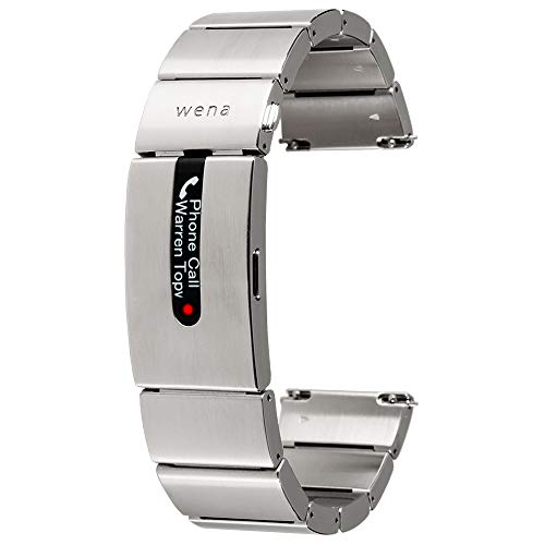 With Sony Silver Stainless Tracking Smart Activity Watches By PaymentNotifications For And Wena Steel Strap Pro Contactless dxoeCWrB