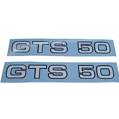 Zündapp GTS 50 Typ 529 Schriftzug Seitenverkleidung Aufkleber, Ersatzteil Sticker Verkleidungs Schriftzug Dekor. Zum Oldtimer Restaurieren von Lack und Verkleidung. Alternativ zum Motorrad Emblem