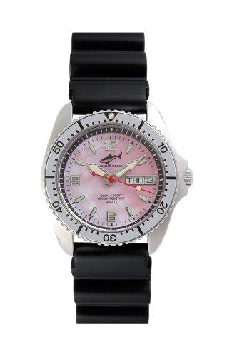Chris Benz One Medium CBM-R-SI-KB Reloj unisex Reloj de Buceo