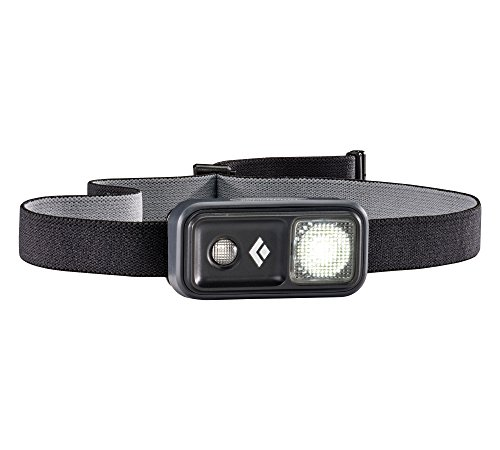 Black Diamond Ion Headlamp Black/Besonders leichte und kleine Stirnlampe mit Rotlicht und Dimmfunktion/Steuerung per Fingertippen, max. 100 Lumen