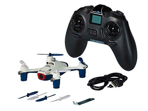 Revell 23922 Control RC Quadrocopter mit HD Kamera, ferngesteuert mit 2,4 GHz Fernsteuerung, leicht zu fliegen, Höhensensor, Geschwindigkeisstufen, Flip-Funktion, Headless, LED, Gyro, STEADY QUAD CAM Drohnen-cams