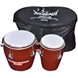 Sharma Musical Store Wooden Bongo With Bag
