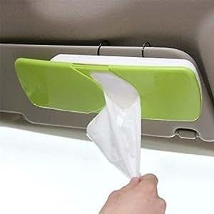 MOHAK Multi-Colored Car Tissue Paper Holder Box
