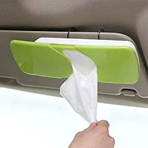 MOHAK Multi-Colored Car Tissue Paper Holder Box