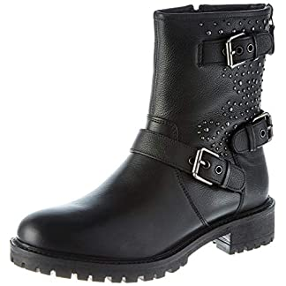 Geox Damen D Hoara C Biker Boots 1