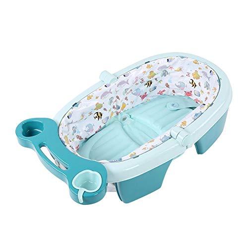 EBTOOLS Bañera Inflable Bebé, Bañera Hinchable Plegable Portátil para Infantil, Ducha...