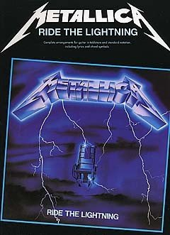Metallica: Ride The Lightning Guitar (Tab Edition). Partitions pour Tablature Guitare(Boîtes d'Accord) par  Music Sales
