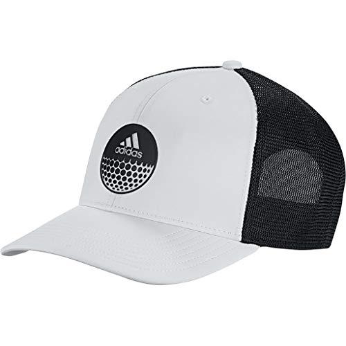 adidas Golf 2019 Casquette Ajustable Snapback Globe Trucker pour Hommes Black/White One Size