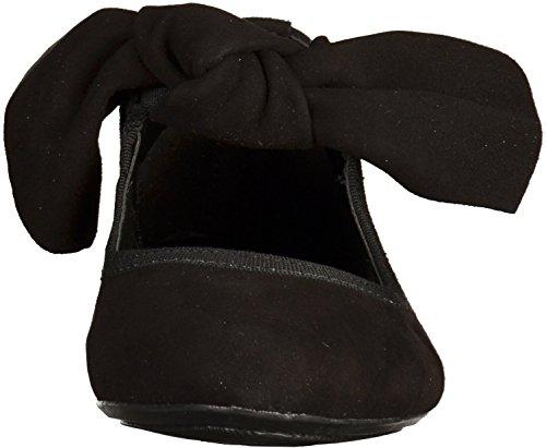 Marco Tozzi 2-22124-38 femmes Ballerine Noir