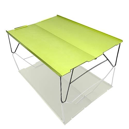 Wulihong-tavolo campeggio mini tavolo da picnic ultraleggero pieghevole in alluminio tavolo da tè pieghevole da campeggio trekking escursionismo tavolo da barbecue portatile q 06