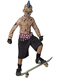 Rubies Costume Co 17795 Zombie Skate Punk Kinderkost-m Gr--e Large-Boys 12-14