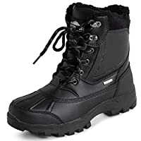 Polar Mens Thinsulate Fully Lined Waterproof Deep Tread Durable Rubber Shell Thermal Winter Rain Snow Boots