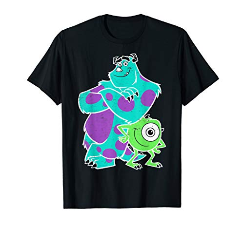 Disney Pixar Monsters University Sulley Mike Buds T-Shirt - Inc Tshirt Sulley Monsters