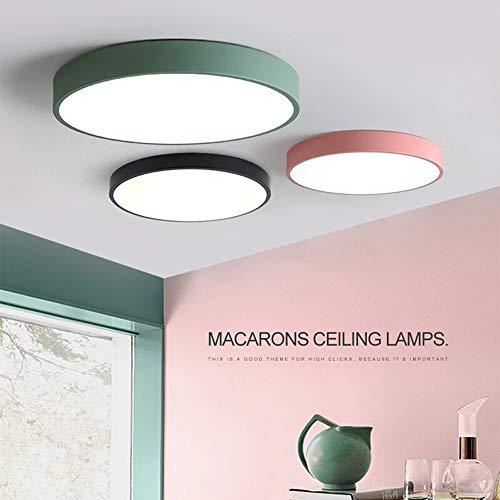 Plafoniera Moderna Macaron soffitto illumina montaggio a filo soffitto apparecchi di illuminazione creativa acrilico Hanging luce for Cucina Bagno Sala da pranzo per l'illuminazione da interno