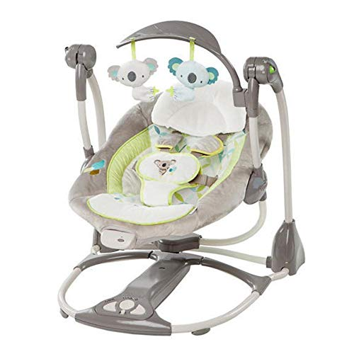 CWLLWC Baby-Schaukelstuhl Elektro, Wiege Baby Artefakt Wiege Bett schlafen beschwichtigen Shaker Schaukelstuhl Rocking Chair Sessel Swing