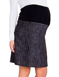 Rosa Pixie Smart algodón una línea maternidad embarazo más de Bump falda