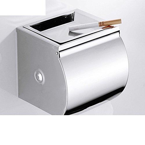 Bad Kleenexbox/WC Fach/Geschlossene Edelstahl Toilettenpapierhalter und wasserdicht und lange Paper Plane/[Lange wasserdicht Rollenhalter]-A