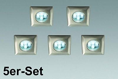 5er LED Einbauset stahl geb. von Philips - Lampenhans.de