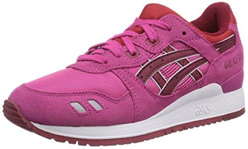 Asics Gel-Lyte III, Chaussures de trail femme Rouge (2526-Magenta/Burgundy)