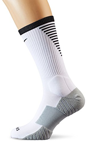 Nike Herren Stadium Football Crew (X Socken, White/Black/Black, S