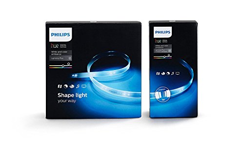 Philips Hue Lightstrip Plus Striscia LED da 200 cm + Hue Lightstrip...