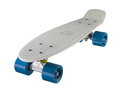 ow in the Dark Mini Cruiser Board Skateboard, komplett, 55cm ()