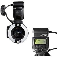 VILTROX JY670N i-TTL Macro Anillo LED Flash Speedlite Flashgun para Nikon SLR Camera, primer plano Disparos