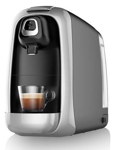 Sirge CREMY Macchina per Caffè Espresso e altre Bevande SEMIAUTOMATICA a Capsule Nespresso con pompa Italiana da 20 bar e caldaia rapida 1140 Watt - Macchina da Caffè Espresso