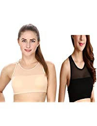65b931fa235 Amazon.in  Strapless and Crop Top - Bras   Lingerie  Clothing ...