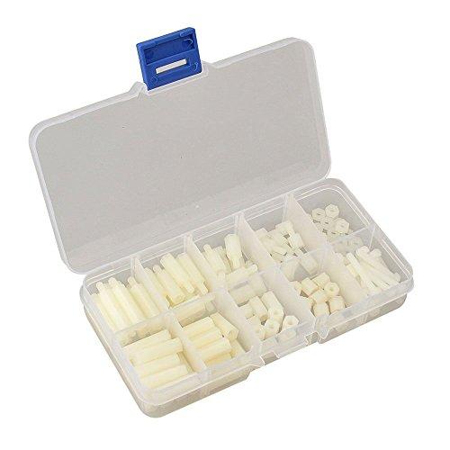 set-ecrou-toogoorentretoises-120pcs-m3-nylon-ecrou-de-vis-accessoires-en-plastique-stand-off-blanc