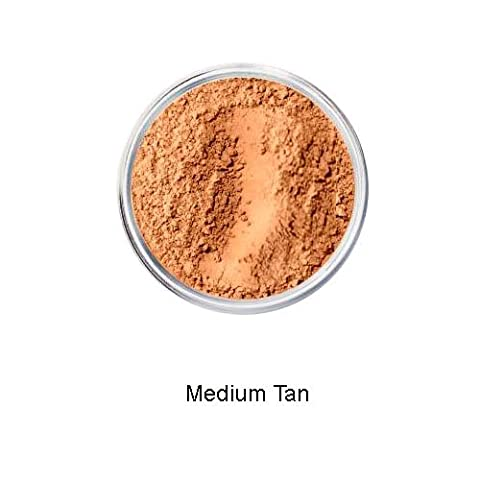 MEDIUM TAN Mineral Makeup Foundation Sheer Finish Full Coverage 5 grams by Intelligent Cosmetics®