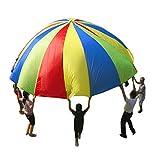 20 pies / 6M niños jugar al juego de Rainbow paracaídas al aire...