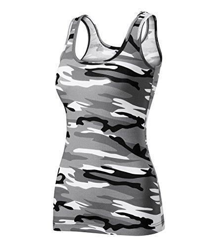 Adler T-Shirt Damentop Triumph Top Größe und Farbe wählbar - (XL, Camouflage grau)