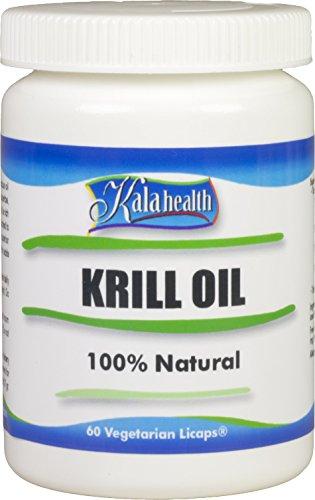 Kala Health - Rimfrost® Krill Öl 60 vegetarische Licaps® Kapseln - Omega 3,7,9