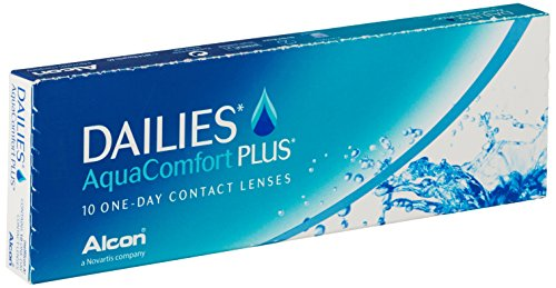 Dailies Aquacomfort Plus, 10er Plus Tageslinsen weich, 10 Stück / BC 8.70 mm / DIA 14.00 mm / -0.5 Dioptrien
