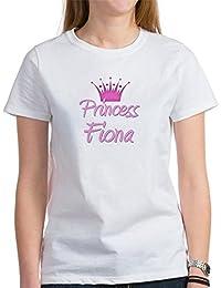 CafePress Princess Fiona - Womens Crew Neck Cotton T-Shirt, Comfortable & Soft Classic Tee