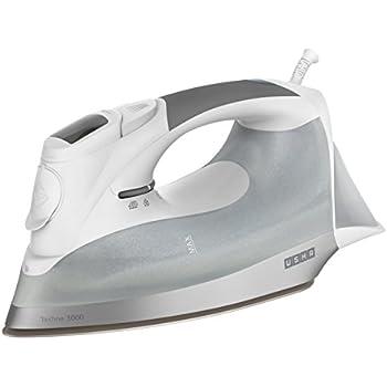 Usha Techne 3000 2200-Watt Steam Iron (White and Grey)